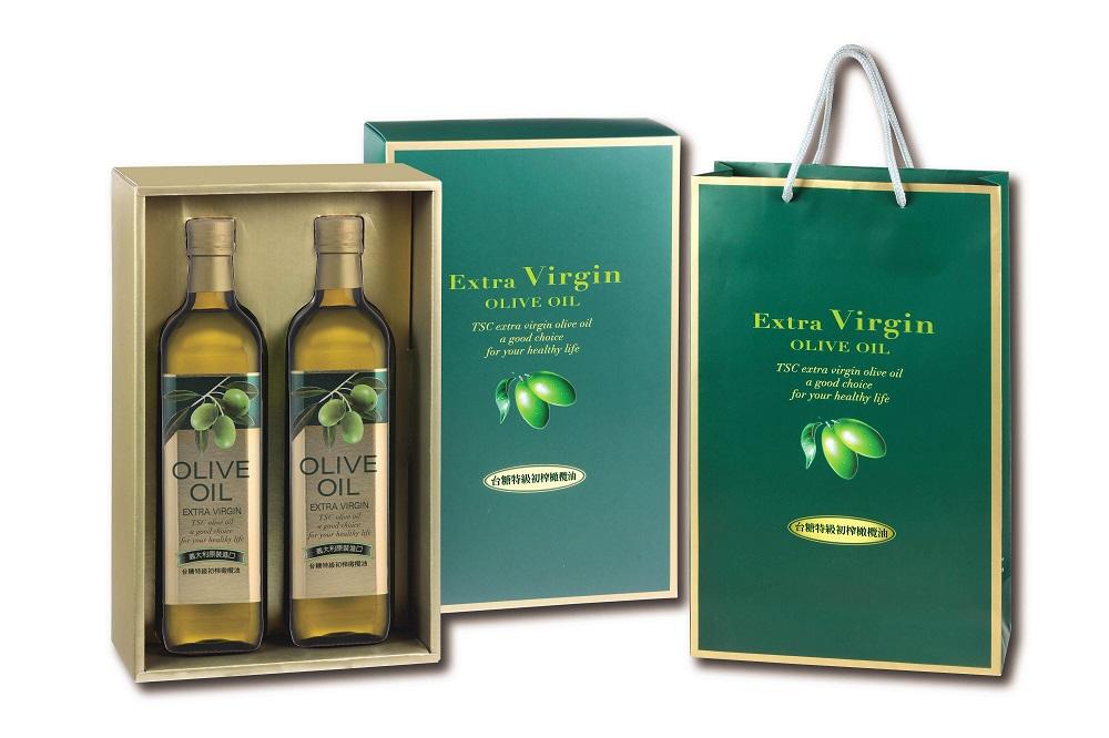 【台糖】頂級橄欖油禮盒 (0.75公升x2瓶)