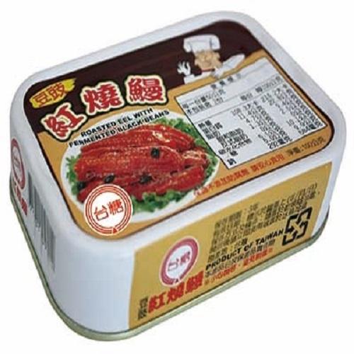 【台糖】豆豉紅燒鰻魚 (100G,3罐裝)