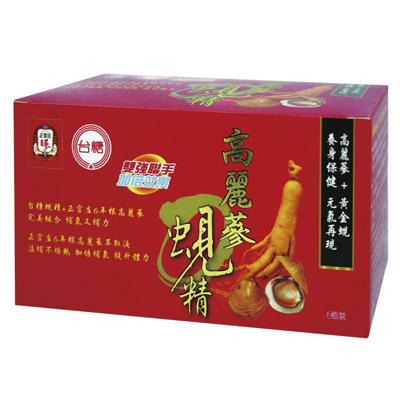 【台糖】高麗蔘蜆精 (62ml/瓶;6瓶/盒)