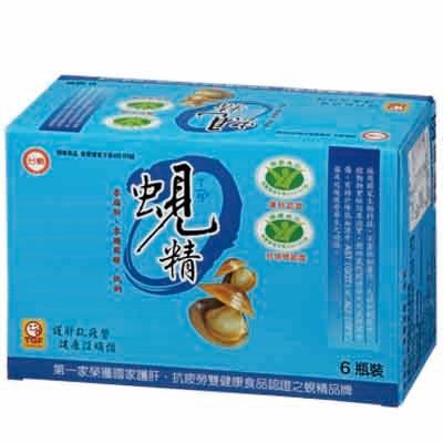 【台糖】蜆精 (62ml/瓶;6瓶/盒)