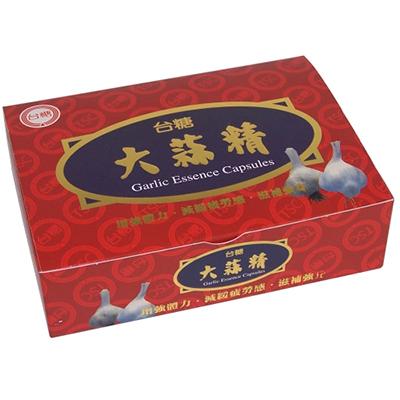 【台糖】大蒜精 (750mg/60粒/盒)