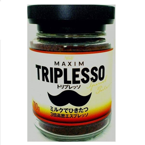 【AGF】義式濃厚即溶咖啡-瓶裝 100公克