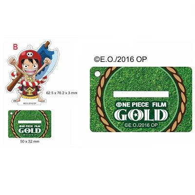 【航海王Gold電影週邊】Q版力士魯夫-立牌吊飾