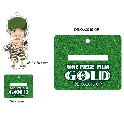 【航海王Gold電影週邊】立牌吊飾-索隆