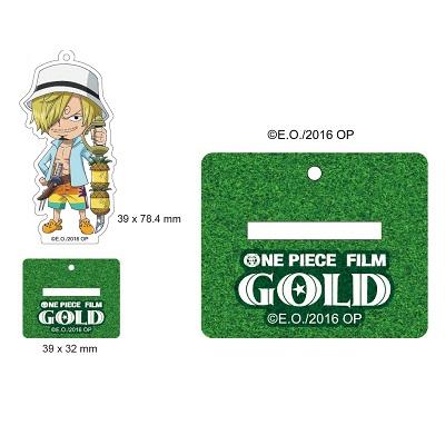 【航海王Gold電影週邊】立牌吊飾-香吉士