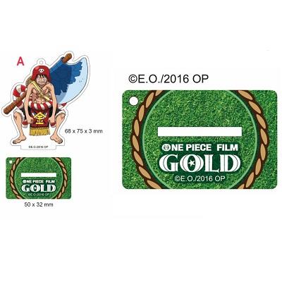 【航海王Gold電影週邊】立牌吊飾-力士版魯夫