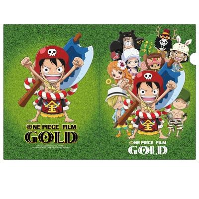 【航海王Gold電影週邊】A4檔案夾組(4入)