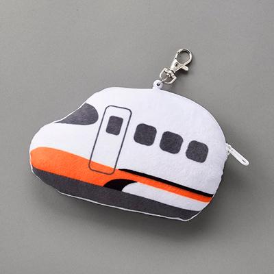 【台灣高鐵】Q版列車伸縮票卡夾零錢包