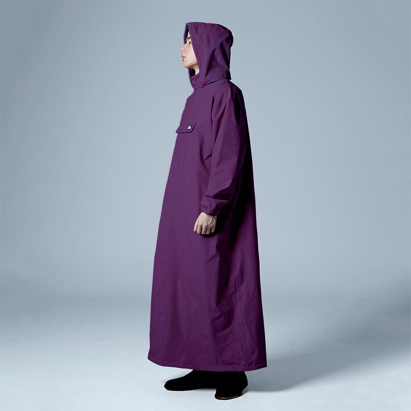 PostPosi 反穿雨衣-深紫