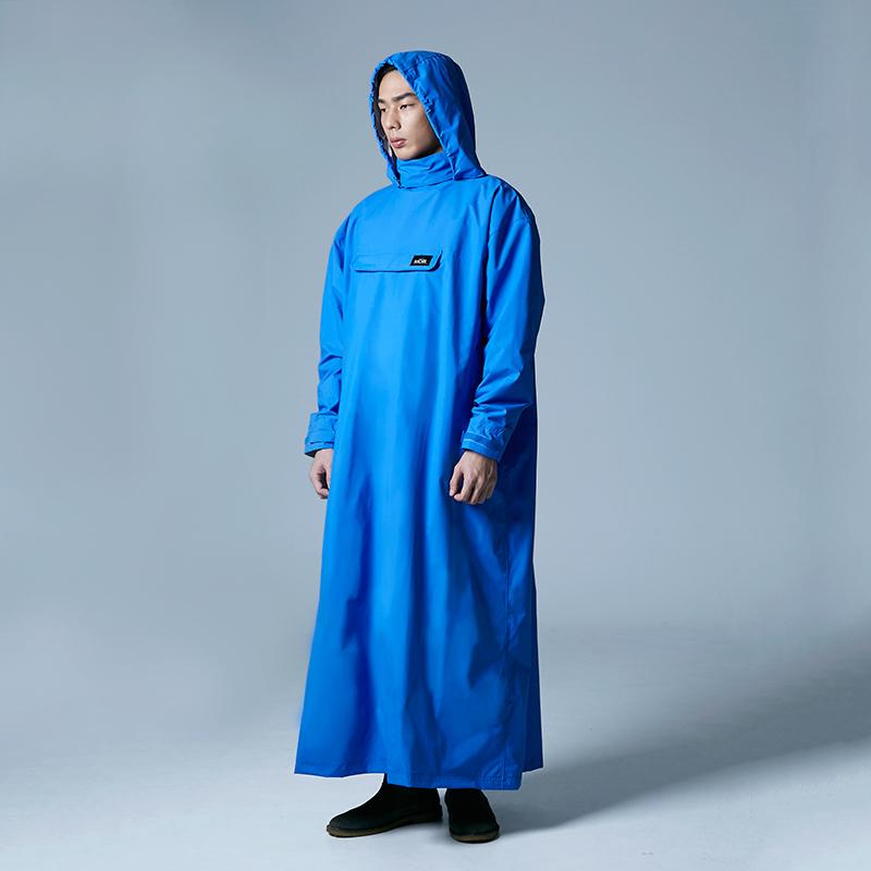 PostPosi 反穿雨衣-皇家藍
