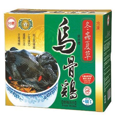 【冷凍店取-台糖】台糖冬蟲夏草烏骨雞(2.2kg/盒)