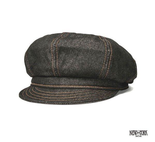 New York Hats Denim Stitch Spitfire 單寧報童帽^(兩色