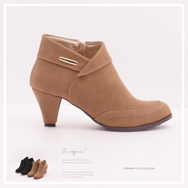VS.vogue短筒粗跟裸靴  ~A00342605~