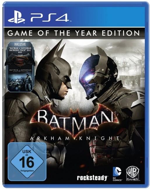 ~PS4 補貨後統一發貨~蝙蝠俠:阿卡漢騎士 年度合輯版~英文版~