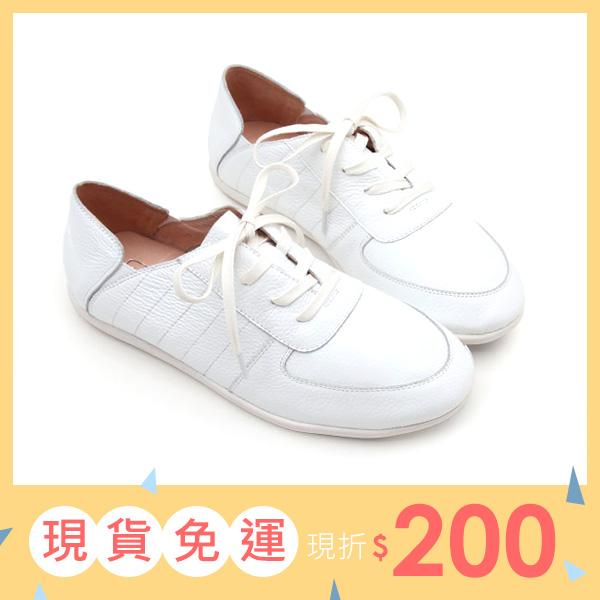 大 女鞋~真皮超柔軟休閒鞋/休閒鞋40~45碼 黑色~BD15020❤172巷鞋舖~