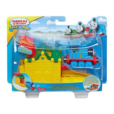 【Thomas&Friends】湯瑪士帶著走-火車發射站