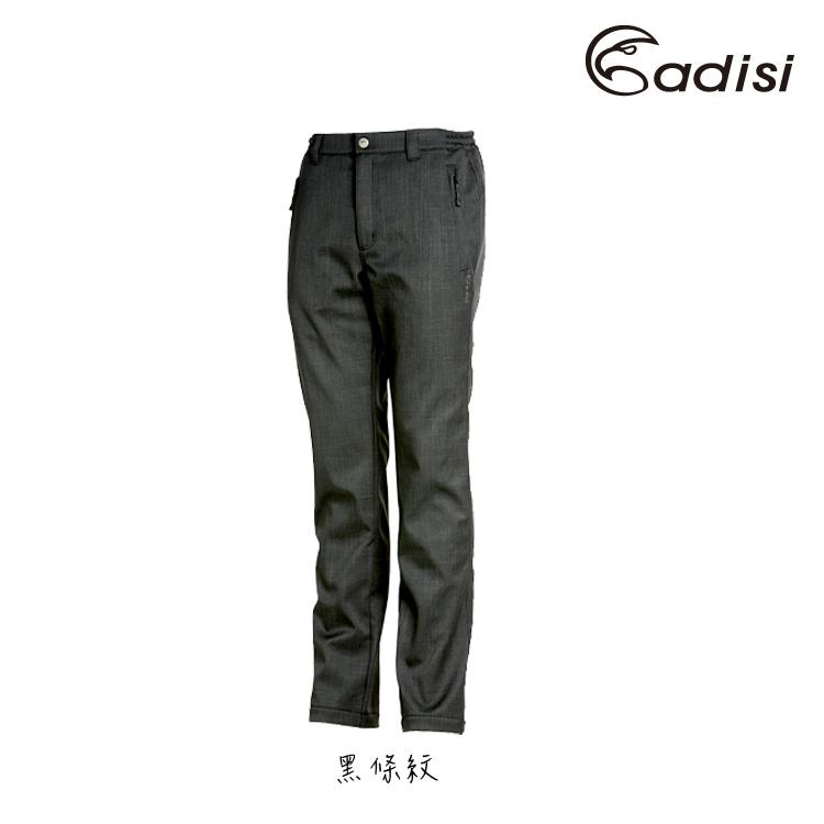 ADISI 男Softshell條紋保暖長褲AP1421042 ^(S^~3XL^)  城