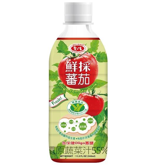 【愛之味】鮮採蕃茄汁(OLINGO國家健康食品認證)350ml-24入/箱