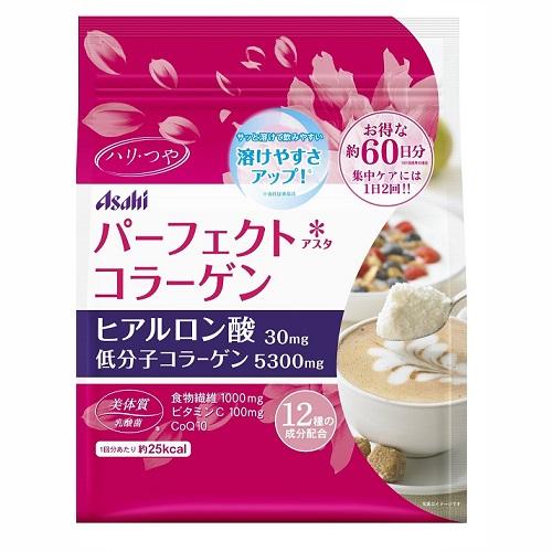 日本代購【Asahi】2015年全新改版 膠原蛋白粉 補充包60日