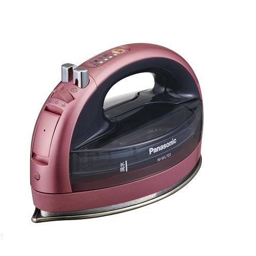 日本代購【Panasonic】無線蒸氣電熨斗 NI-WL703-P 粉紅色