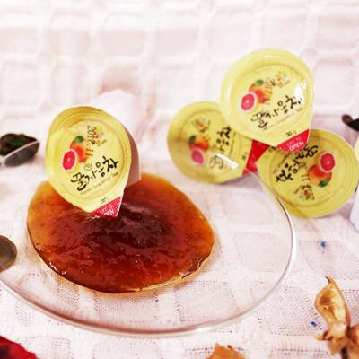 冷冷的天氣就是要喝^!^!^!~韓國Honey Citron Tea~葡萄柚蜂蜜膠囊茶^~