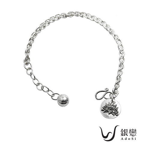 AnnShop小安的店~銀戀925AdoSi‧稱霸天下劍獅纏綿繞小孩手鍊~銀飾飾品 SLS