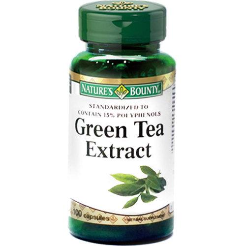 自然之寶綠茶菁萃膠囊100顆~康是美~