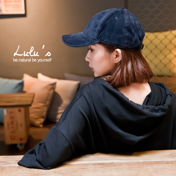 LULUS~A絨布棒球帽~3色 現 預~09010502~