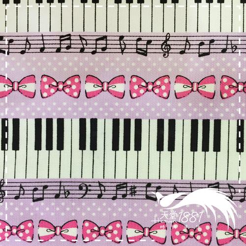 鋼琴上有蝴蝶結~紫 ^(尺 30cmX110cm^)