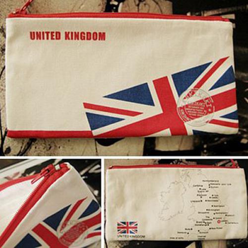 kakikaki^~英國^~國旗收納袋