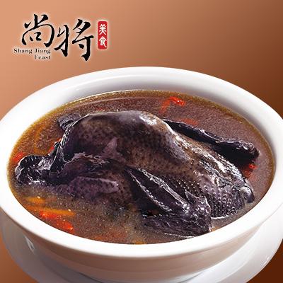 【冷凍店取】尚將養生御膳烏骨雞湯(2200g(固形物700g))
