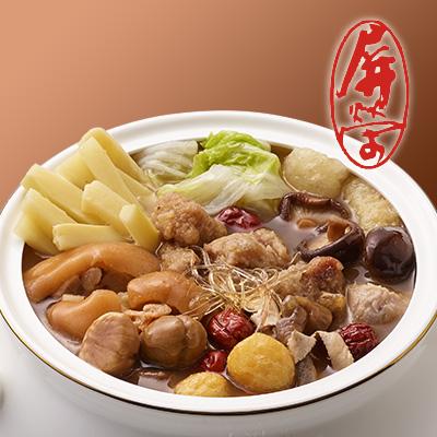 【冷凍店取】總舖師手路佛跳牆(不含甕)(1760g(固形物:630g))