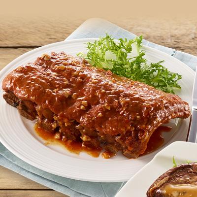 【冷凍店取】寶師傅碳烤豬肋排(450g)
