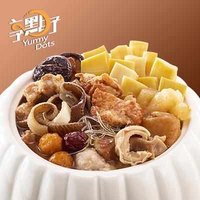 【冷凍店取】享點子金龍佛跳牆(不含甕)(200g(固形物1000g)