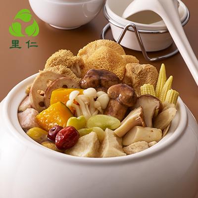 【冷凍店取-里仁】(蔬食)素食活跳牆(不含甕)(2397g(固形物897g))