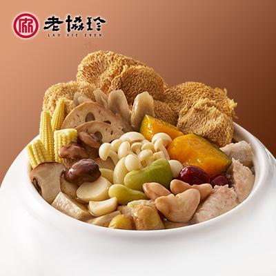 【冷凍店取】105/10/20起取貨,老協珍蔬食佛跳牆(不含甕)2437g(固形物937g)