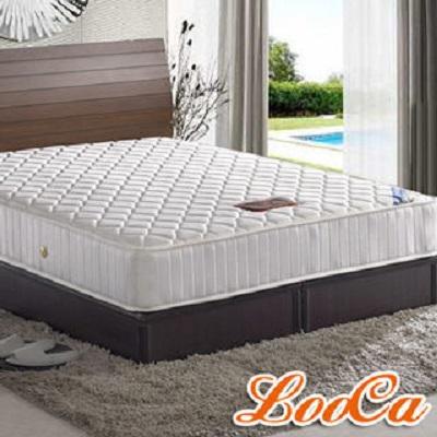 【LooCa】完美曲線獨立筒床墊-雙人