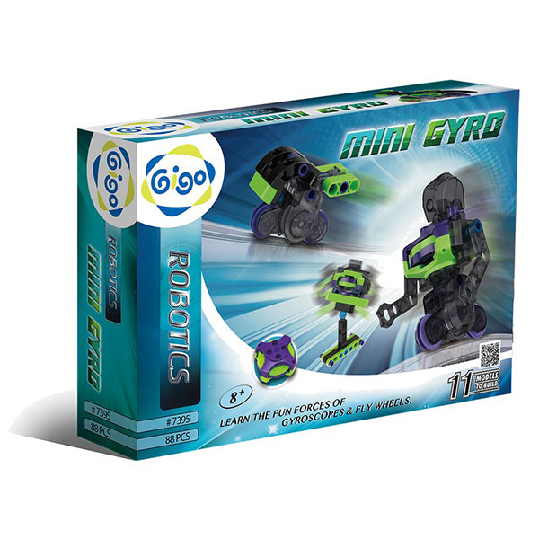 【Gigo智高】機器人系列 陀螺儀飛輪機器人