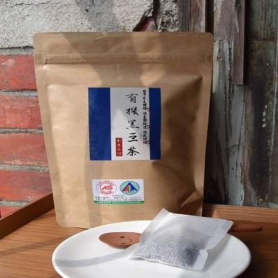 【彰農米糧】有機台灣青仁黑豆茶 (12g*18入) 食品級濾袋