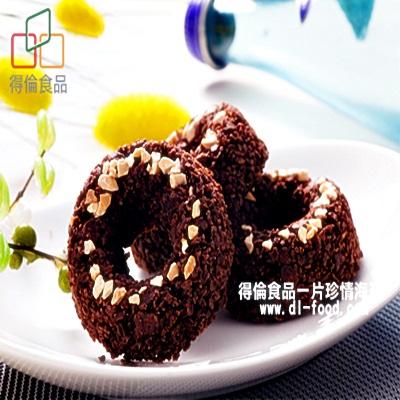【得倫食品】巧克力甜甜圈脆片 (12入)-非吃不可團購美食