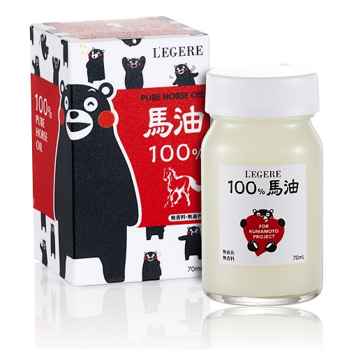 【L'EGERE】熊本熊100%馬油霜 (日本限定版)