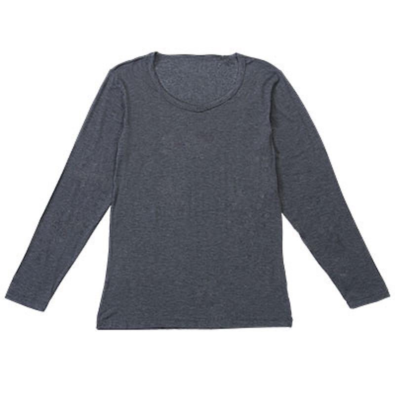 【FMC】新升級女深灰裏起毛無重力發熱衣