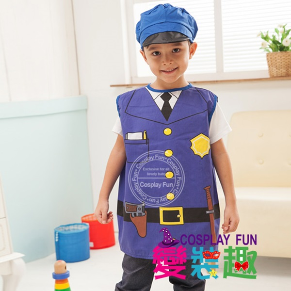【變裝趣】表演造型服_警察扮相服