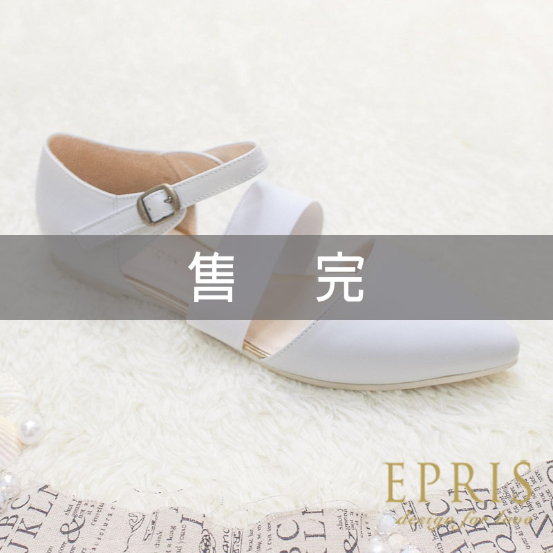 MIT小中大 涼鞋 簡約女神 全真皮柔軟平底羅馬鞋21~25.5 EPRIS艾佩絲~ 白