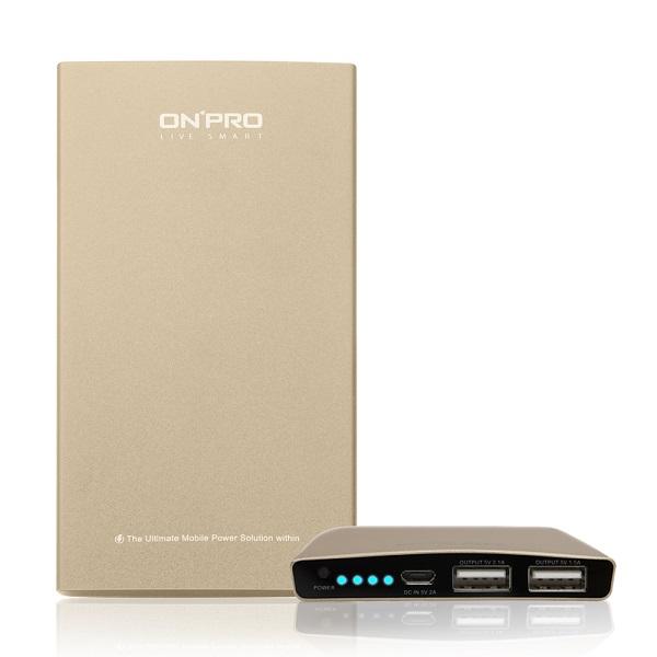 【ONPRO】8000mAh超急速充電行動電源/金