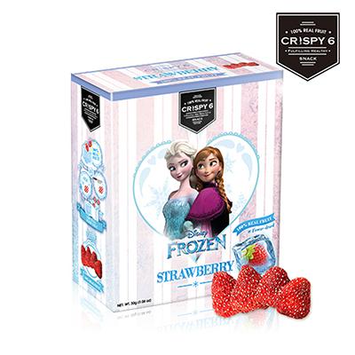 【Crispy6】冰雪奇緣版 旅行者6號果乾-草莓 (30G/包)