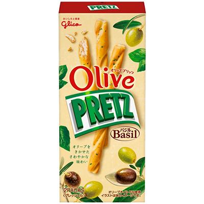 格力高Olive羅勒風味百利滋棒 (49g)