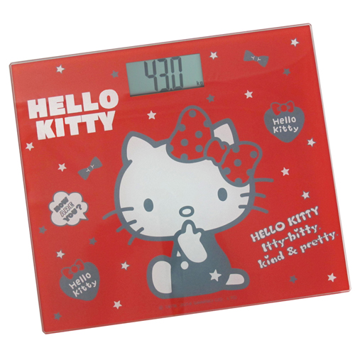 【Hello Kitty】電子體重計HW-319R