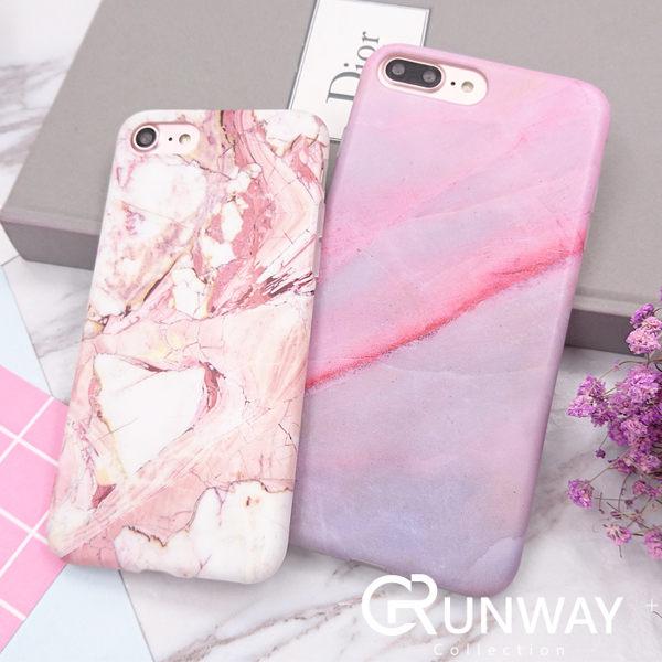 粉紅色系 大理石 iPhone 7 plus I6 6s 蘋果 IMD 手機殼 防摔磨砂殼
