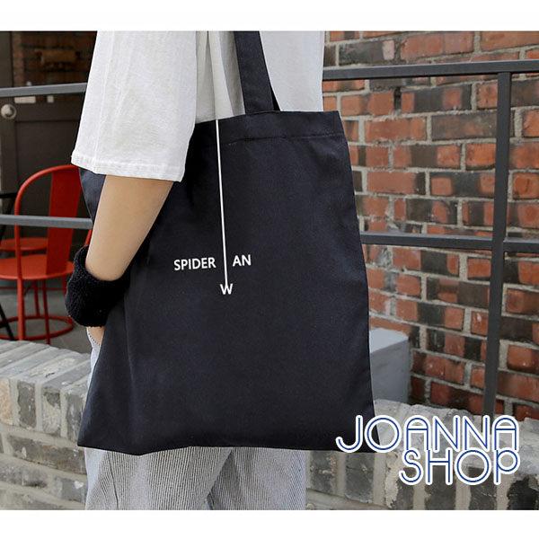 肩背包 潮流霸主字母帆布側背包~Joanna Shop